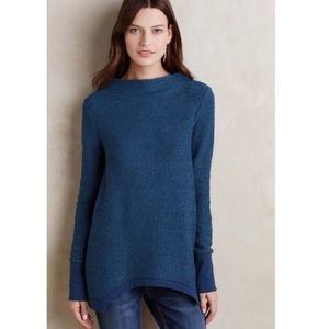 Anthropologie Postmark Inari Pullover Sweater Blue
